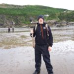 Bushcraft courses in the UK. Coastal survival instructor