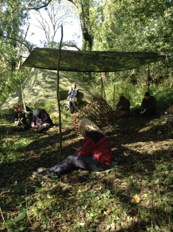 Survival courses set in the woods