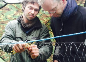 Sweden bushcraft course - River Hunter gatherer - canoe, forage and fish