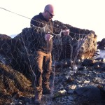 Si Parker Using a coastal survival pocket Gill net