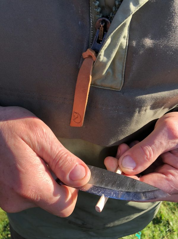 Whittling useful survival tools