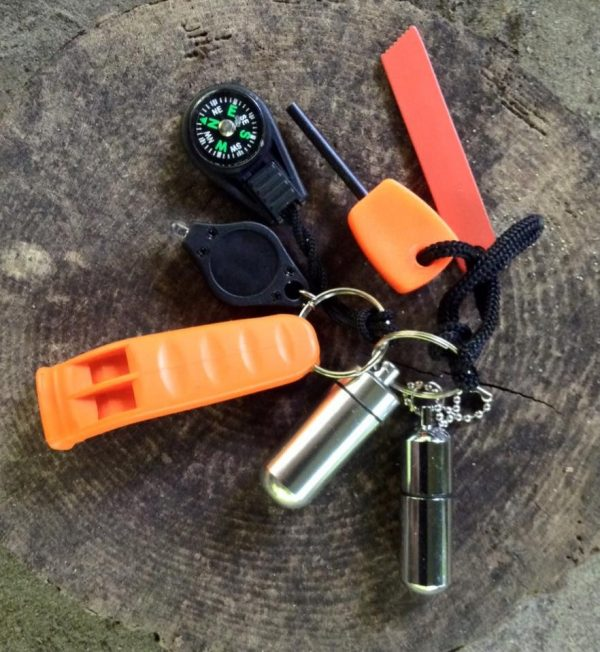 Coastal survival EDC keying kit